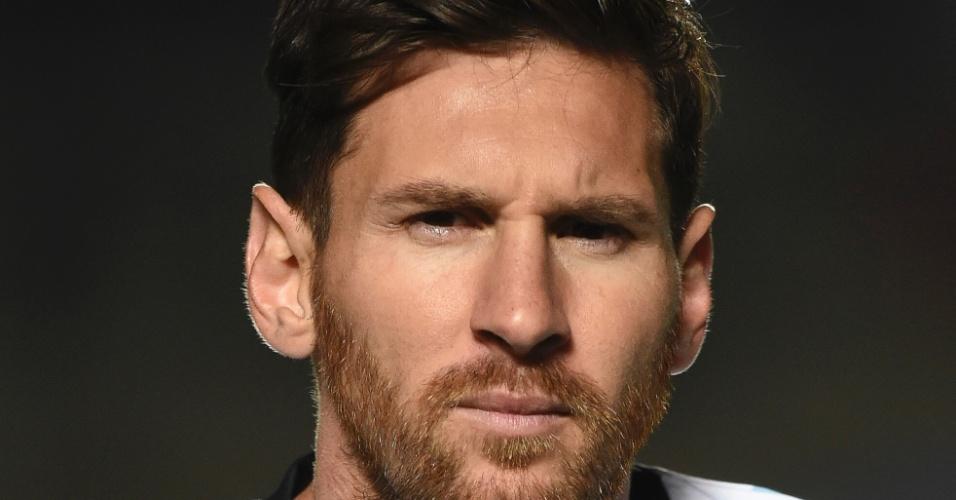 Messi chamou atenção pelo visual em 2016