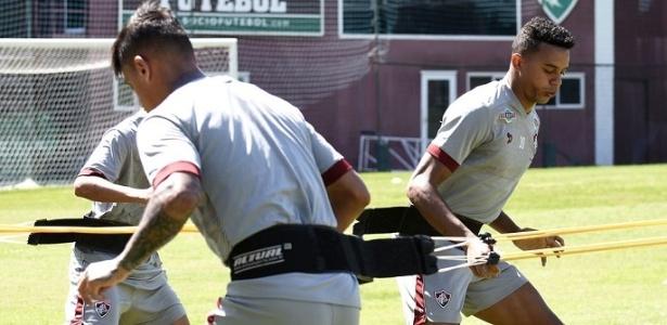 William Matheus está fora dos planos do Fluminense para 2017