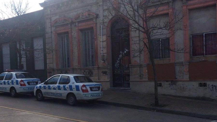 Sede do Rampla Juniors foi alvejada por fugitivo; ninguém se feriu - RamplaJuniorsFotos/Facebook