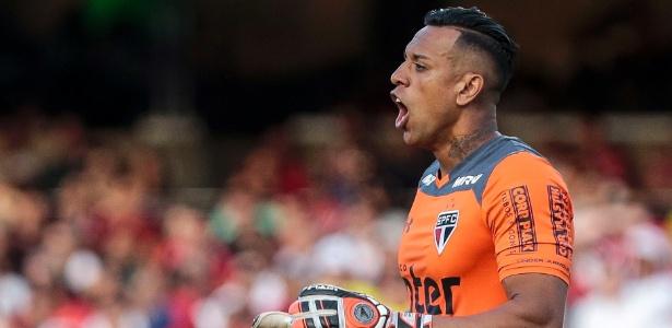 O goleiro Sidão ficou impressionado com o carinho da torcida no clássico - Ale Cabral/AGIF