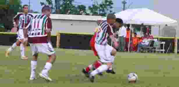 Guaynabo Fluminense em ação em Porto Rico: time disputa liga amadora - Reprodução/Facebook