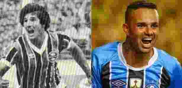 Renato e Luan - Divulgação/Grêmio - Divulgação/Grêmio