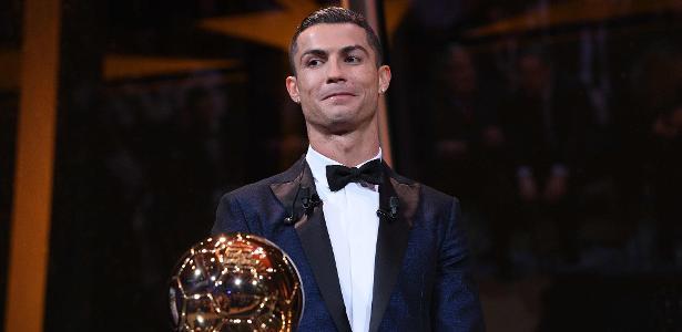 Cristiano Ronaldo é detentor de cinco Bolas de Ouro
