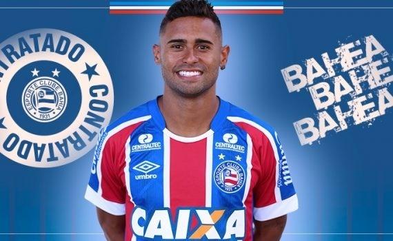 Kayke é apresentado como reforço do Bahia