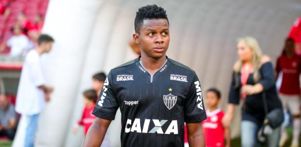 Juan Cazares, meia-atacante do Atlético-MG - Bruno Cantini/Divulgação/Atlético-MG
