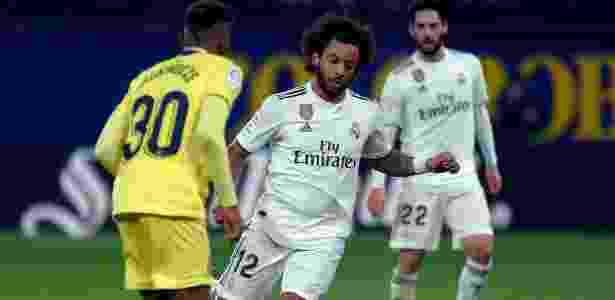 Marcelo está em má fase no Real Madrid - JOSE JORDAN / AFP