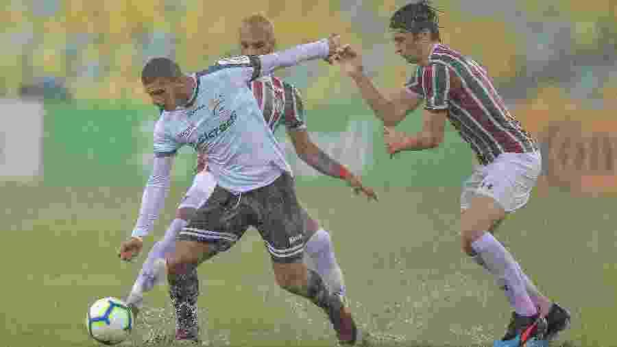 Fluminense superou tempestade e a Luverdense no Maracanã para avançar na Copa do Brasil - Thiago Ribeiro/AGIF
