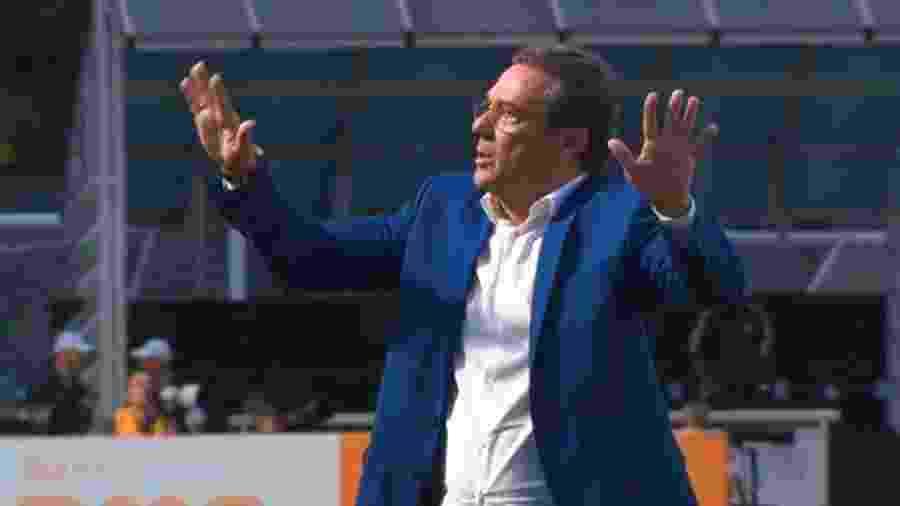 Técnico Vanderlei Luxemburgo terá seu contrato encerrado com o Vasco em dezembro deste ano - Reprodução