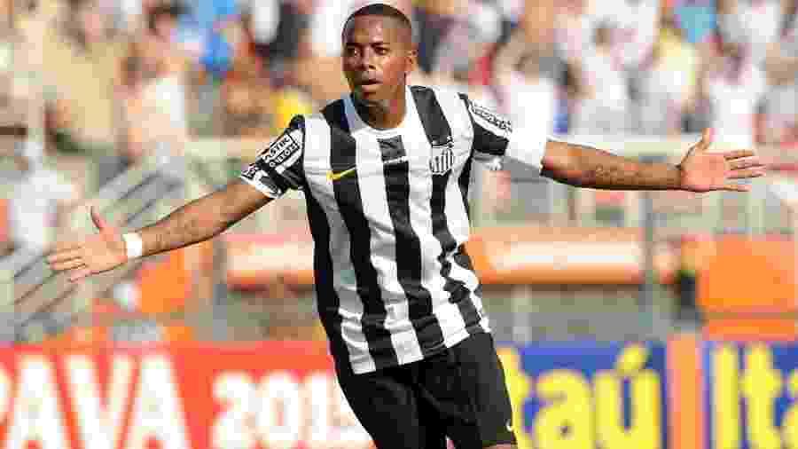 Robinho, quando atuava pelo Santos - Ivan Storti/Santos FC