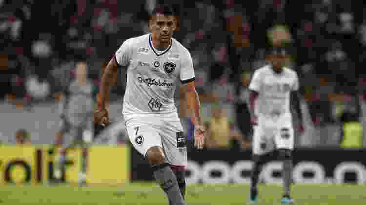Diego Souza, durante partida entre Botafogo e Ceará - Vitor Silva/Botafogo - Vitor Silva/Botafogo