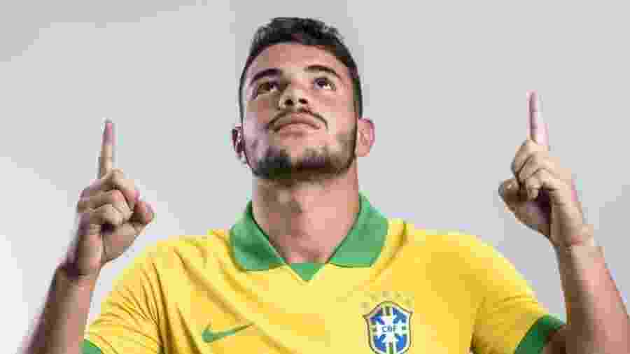 Daniel Cabral, volante do Flamengo e das categorias de base da seleção brasileira - Alexandre Loureiro/CBF