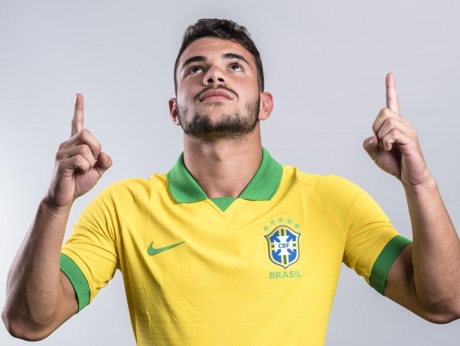 Daniel Cabral, volante do Flamengo e das categorias de base da seleção brasileira
