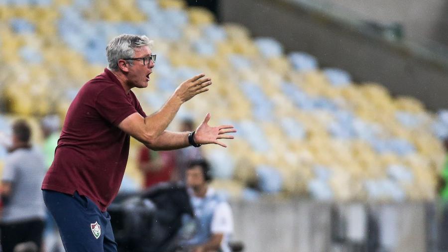 Fluminense de Odair Hellmann chega pressionado para sequência decisiva - Lucas Merçon/Fluminense FC