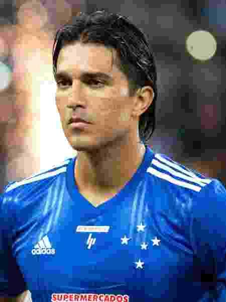 Marcelo Moreno posicionado em Atlético-MG x Cruzeiro pelo Campeonato Mineiro - Fernando Moreno/Agif