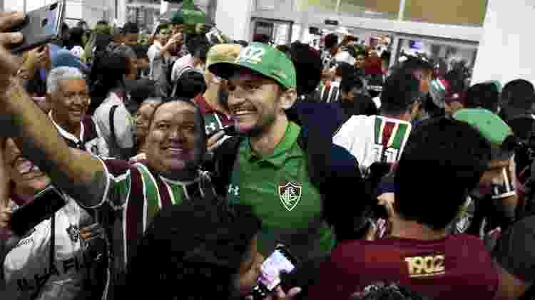 Matheus Ferraz é xodó da torcida do Fluminense - Mailson Santana/Fluminense FC - Mailson Santana/Fluminense FC