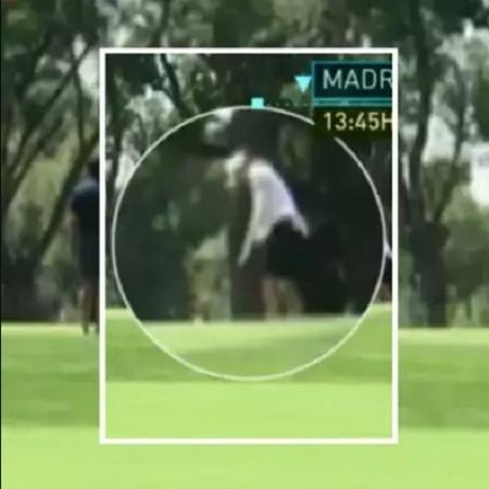 Bale foi visto jogando golfe horas antes de decisão do Real Madrid na Champions - Reprodução/Chiringuito TV