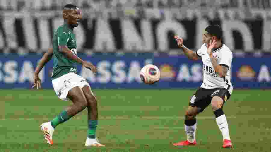 Patrick de Paula foi decisivo nos pênaltis contra o Corinthians - Cesar Greco/Ag. Palmeiras