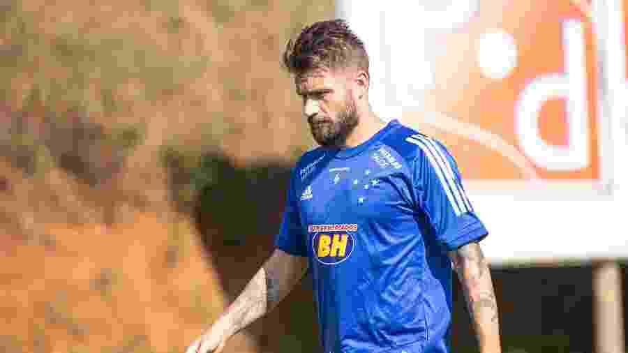Rafael Sóbis marcou contra a Chapecoense o seu primeiro gol após retornar ao Cruzeiro - Igor Sales/Cruzeiro