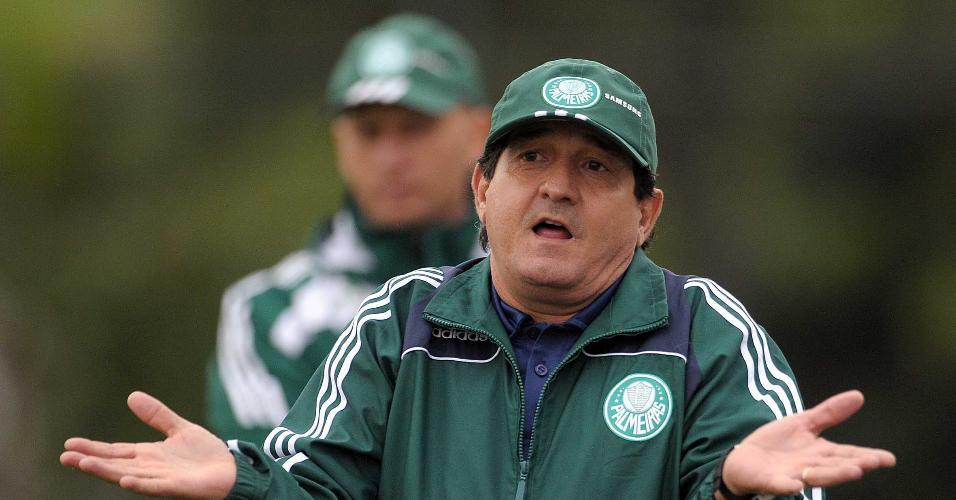 Muricy Ramalho no comando do Palmeiras em 2009
