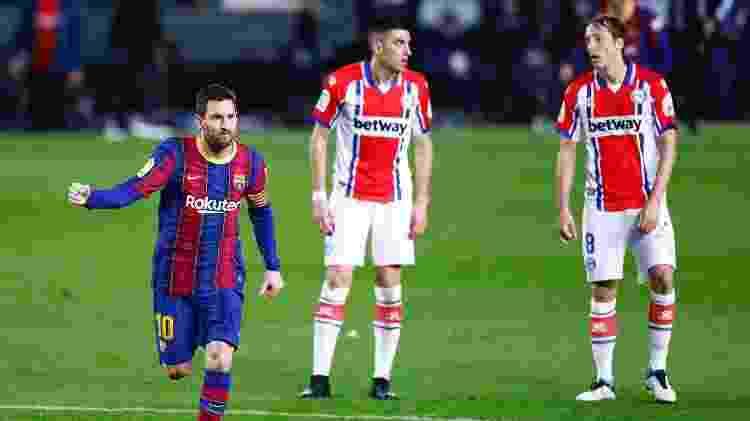 Com 8 gols nos últimos 5 jogos, Messi vive melhor momento na temporada - Eric Alonso/Getty Images - Eric Alonso/Getty Images