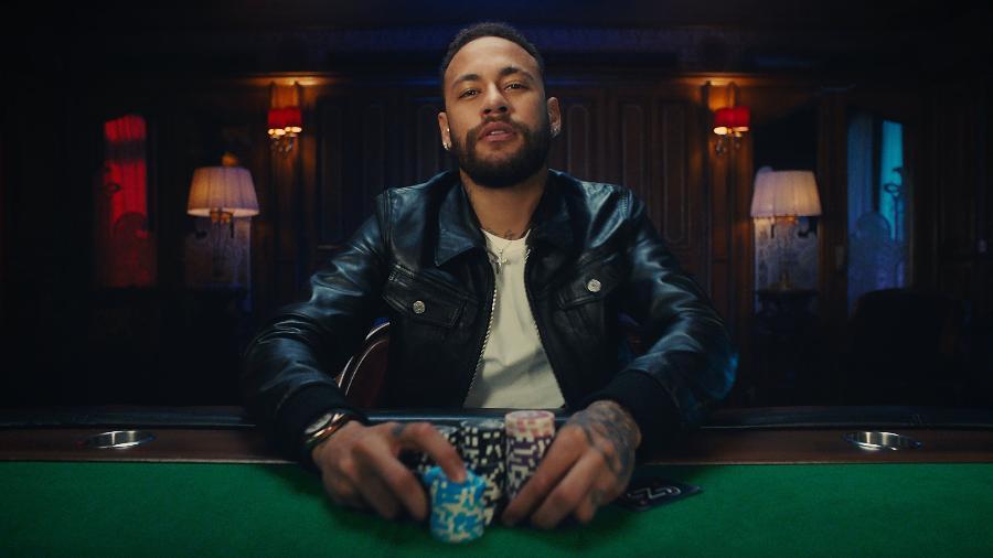 Neymar vira embaixador cultural de site de pôquer - Divulgação