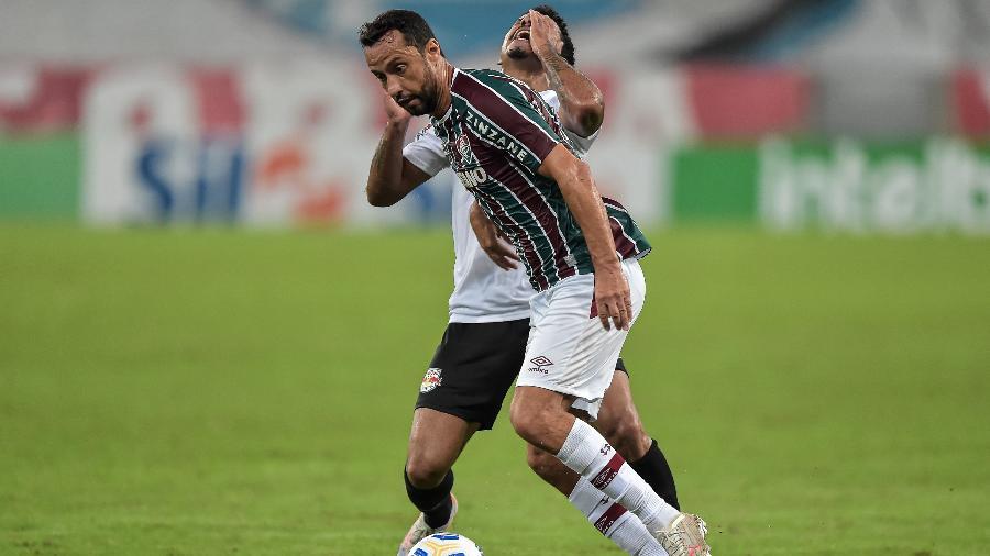 Nenê foi destaque da segunda vitória do Flu no Brasileiro - Thiago Ribeiro/AGIF