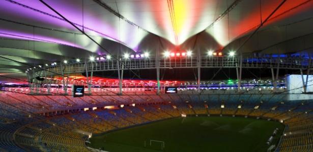 Maracanã é o estádio que receberá maiores públicos na Copa das Confederações