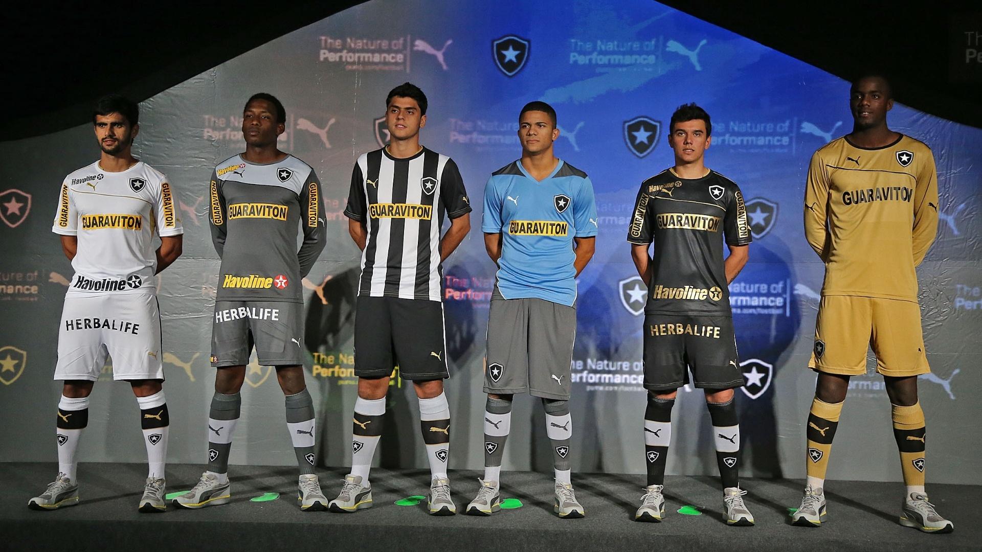 49ea63a5ce Puma aceita vazamento de camisas do Bota e prioriza venda no lançamento -  Esporte - BOL