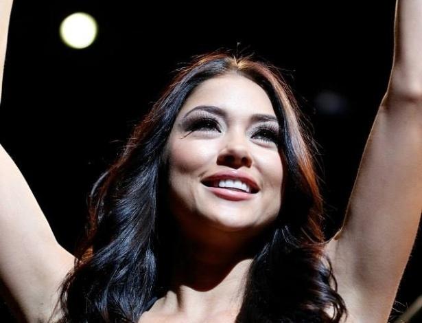 25.mai.2013 - Arianny Celeste é outra ring girl que deixou o UFC mais bonito