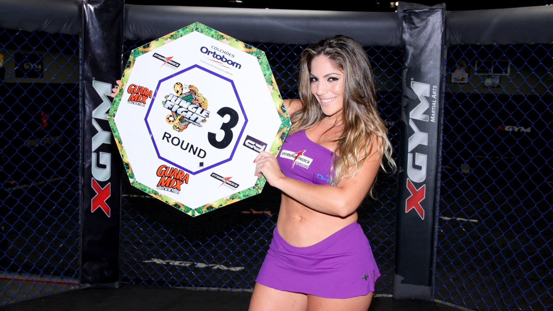 Anamara será ring girl do Jungle Fight 53
