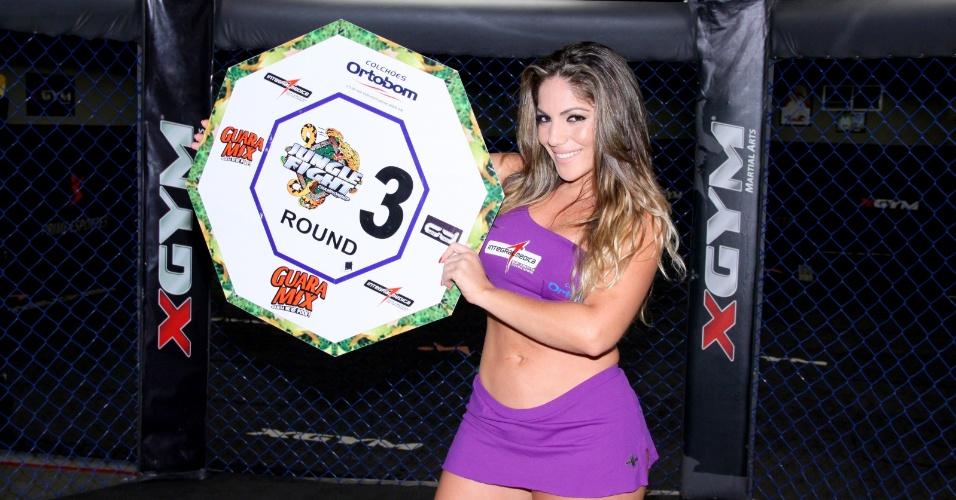 Anamara será ring girl do Jungle Fight 53