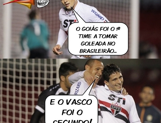 Corneta FC: Vasco é o segundo a tomar goleada no Brasileirão e reforça fama de vice