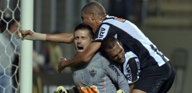 Após o Atlético passar pelo São Paulo, Victor e Leonardo Silva fizeram história pelo clube mineiro