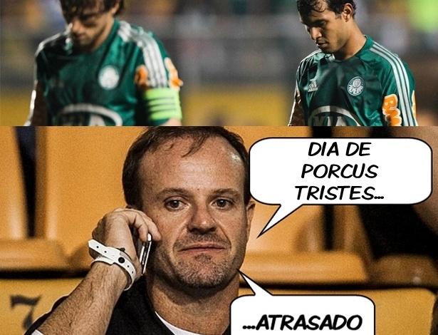 Corneta FC: Derrota do Palmeiras na Série B garante piada infame do feriado
