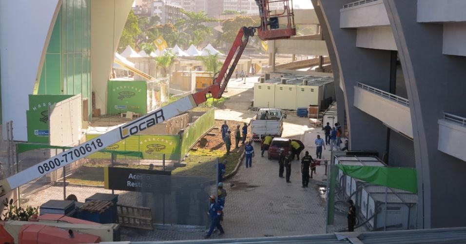 Entorno do Maracanã é a área que ainda necessita de mais obras para a Copa das Confederações