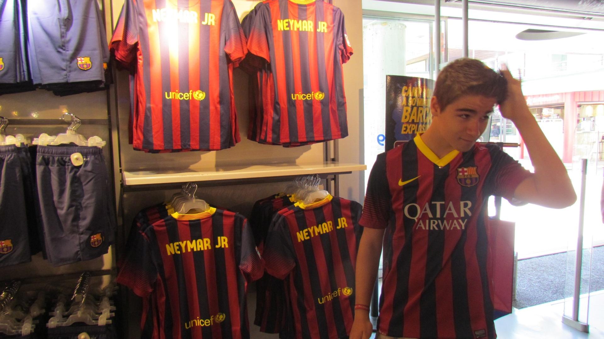 Garoto belga vai ao Camp Nou db4aa77062fdc