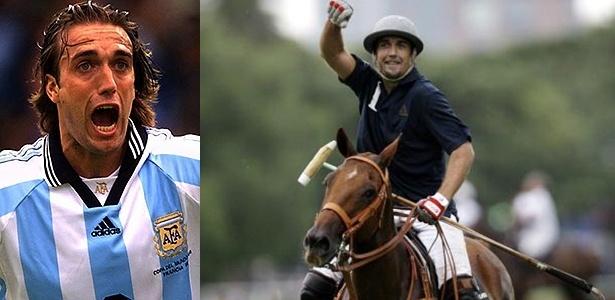 Ídolo da seleção argentina, Gabriel Batistuta adotou o polo depois de abandonar o futebol
