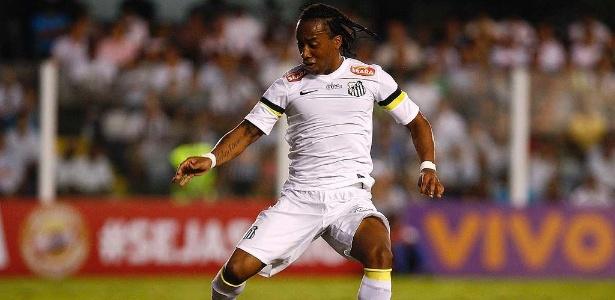 Volante Arouca tem contrato com o Santos até agosto do próximo ano - Santos FC/Divulgação
