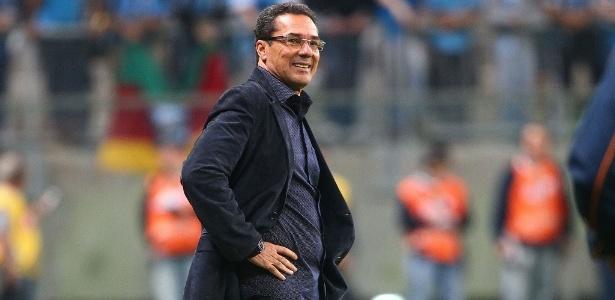 Vanderlei Luxemburgo indicou muitos jogadores, nenhum rendeu um centavo sequer - Lucas Uebel/Gremio FBPA
