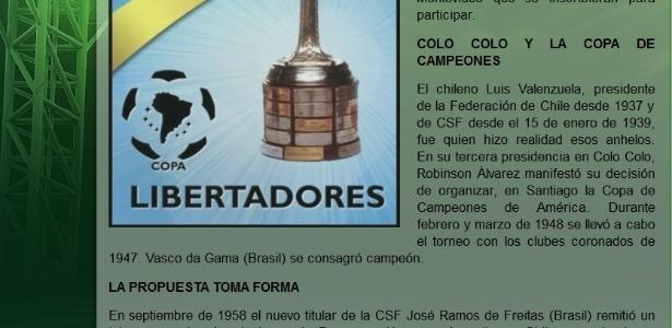 A Conmebol reconheceu o título sul-americano do Vasco da Gama de 1948