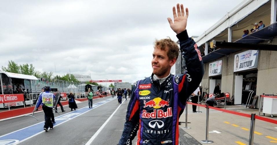 Líder da temporada, alemão Sebastian Vettel terminou em nono na primeira sessão de treinos de sexta