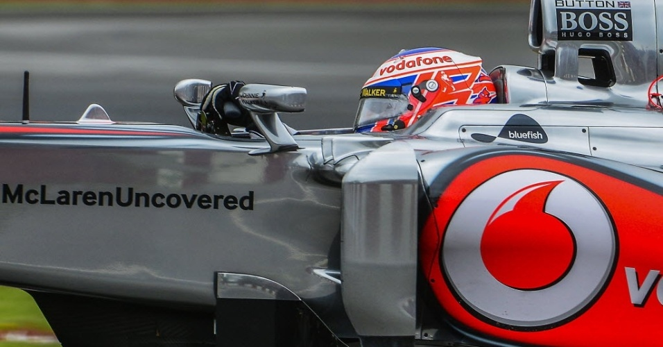 Jenson Button, da Mclaren