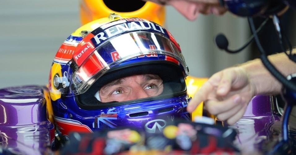 Mark Webber fez a melhor volta no terceiro treino do GP do Canadá
