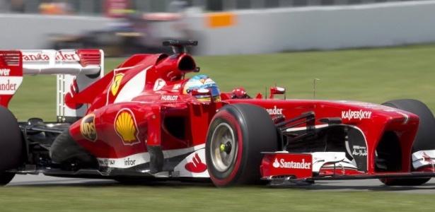 A 22 voltas para o fim, Alonso tinha deixado Webber e Rosberg para trás e partiu para tentar a segunda colocação, de Hamilton