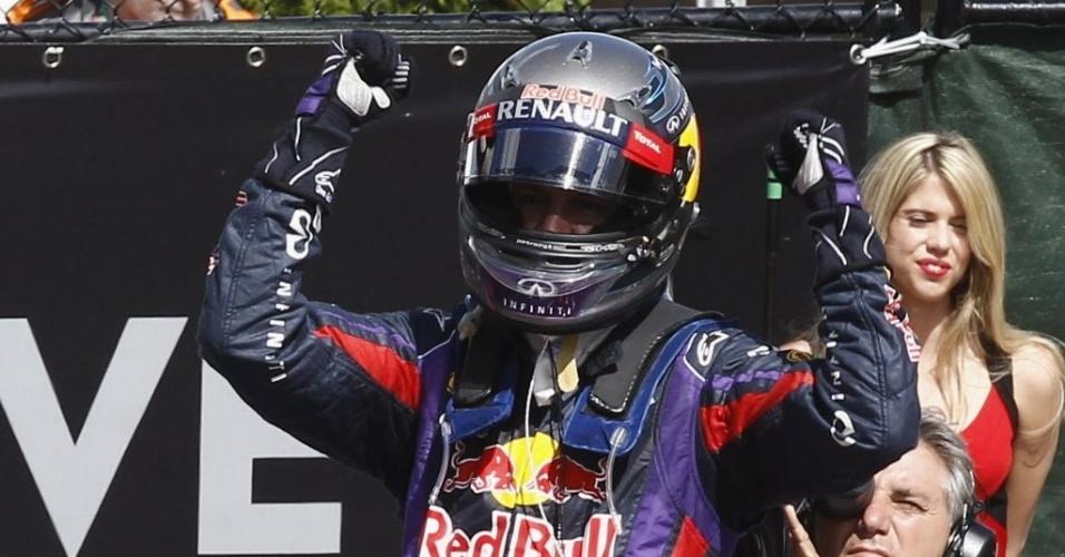 Alemão da Red Bull celebra terceira vitória na temporada, chegando a 132 pontos