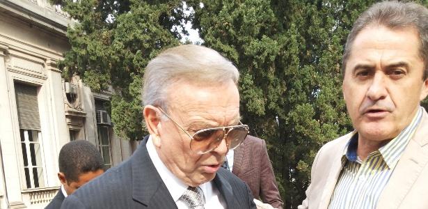 Marin se encontra com o adversário Francisco Novelletto, presidente da Federação Gaúcha - Foto de Ricardo Perrone/UOL
