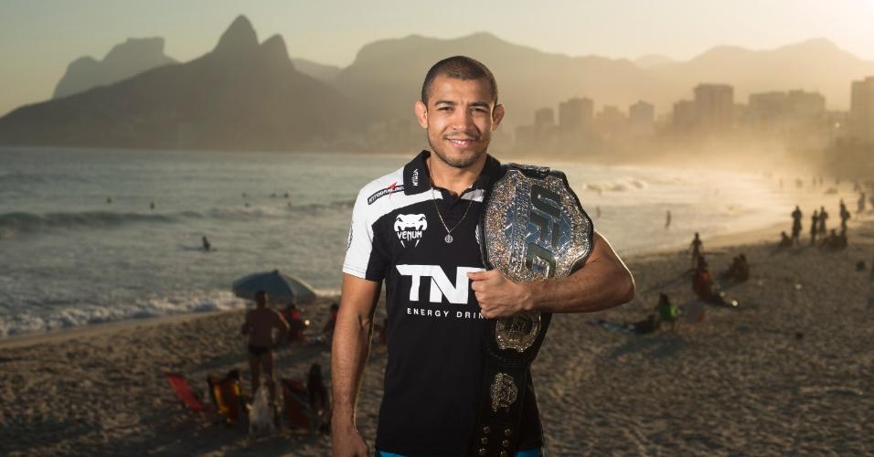 José Aldo defenderá o cinturão dos penas no UFC Rio 4