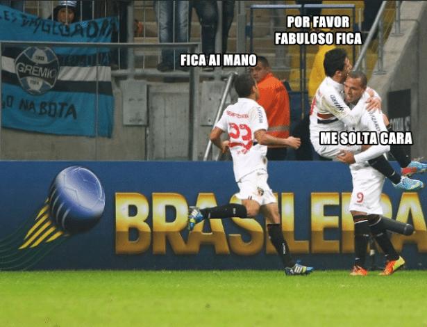 Corneta FC: Luis Fabiano vê pedidos desesperados para que continue no São Paulo