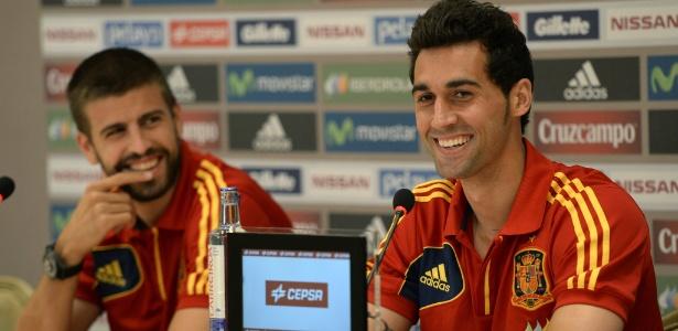 Arbeloa é campeão do mundo pela seleção espanhola - AFP PHOTO / TIMOTHY   CLARY