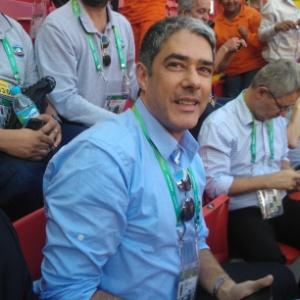 Além da capacidade, William Bonner foi favorecido pelo destino   - Luiz Paulo Montes/UOL